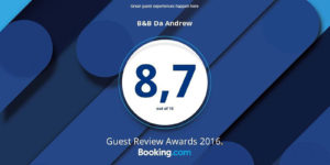 Booking.com Award Year 2016